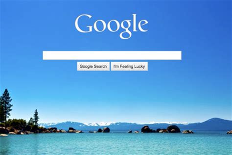 background themes for google homepage google background appears on homepage techeblog