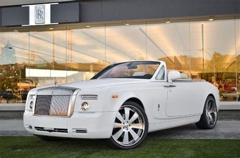 rolls royce white convertible sell used 2011 rolls royce phantom drophead coupe
