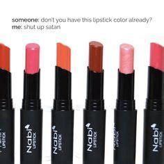 Nabi Liquid Matte Lipstick Nabi Liquid Matte Lipstick Nabi Liquid 19 nabi matte lasting lip gloss liquid lipstick from usa muraaahh banget untuk ukuran liquid