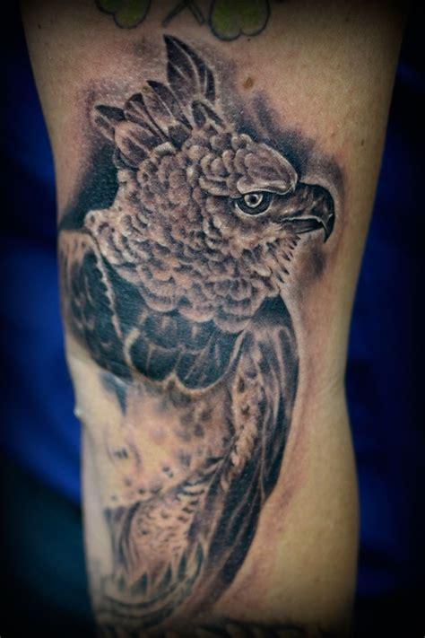 ecuador tattoo harpy eagle diego espinosa ecuador