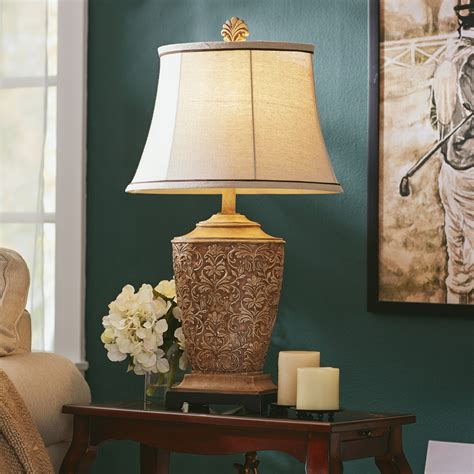 living room table lamps  methods  bring incandescent style   living room warisan