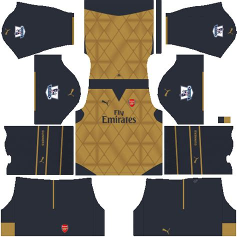 arsenal dls kit kits dream league soccer kit arsenal dls 16