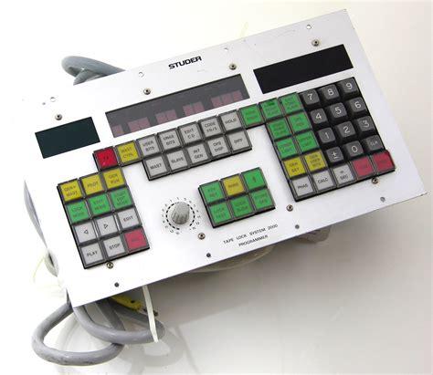 system programmer description studer lock system 2000 programmer