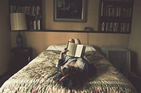 alone in bedroom alone bed bedroom book girl image 126305 on favim com