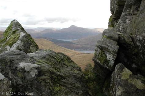 arrochar with ben lomond behind taken from the path to the cobbler scotland the arrochar alps ben lomond from the cobbler