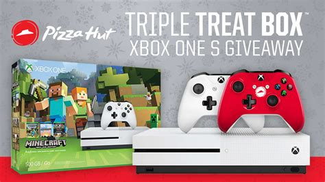 pizza hut triple treat box xbox one s giveaway gamespot - Pizza Hut Xbox One S Giveaway