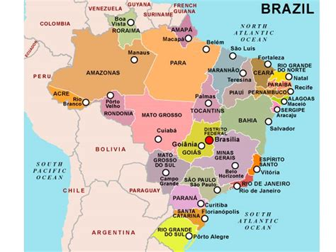 imagenes satelitales brasil mapa de brasil descarga los mapas de brasil