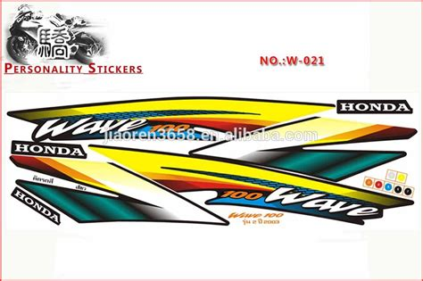 Honda Wave Sticker by Honda Wave 100 Stickers Images