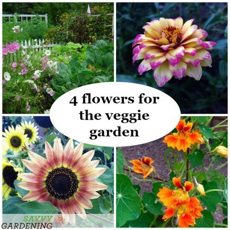flowers for vegetable garden four flowers for the vegetable garden