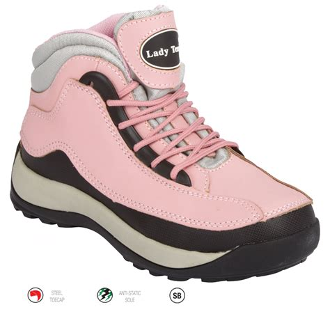 safety sport shoes sport pink safety boot safety styles
