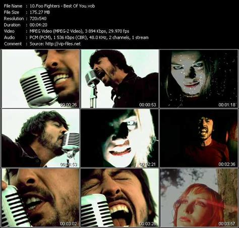 best of you by foo fighters foo fighters best of you hq vob mpeg 2