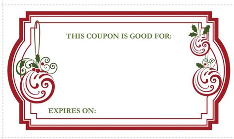 avery coupon template 17 best ideas about gift coupons on