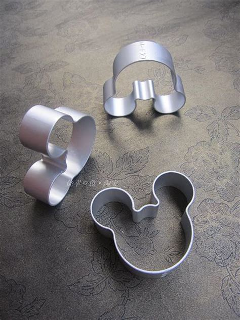 Cookie Cutter Mickey Mouse 3 Pcs Stainless Steel Cetakan Mickey Mouse stainless steel mini mickey mouse 3pcs set cookie