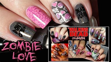 dead girlz tattoo best 25 walking dead nails ideas on the
