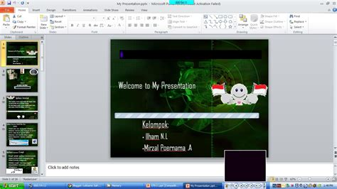 contoh membuat presentasi powerpoint menarik contoh slide presentasi powerpoint yang baik dan menarik