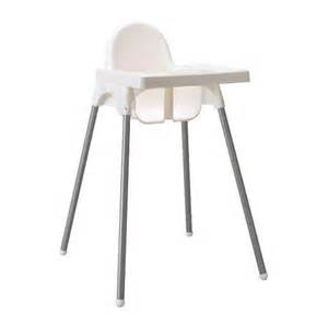 ikea kinder stuhl hochstuhl ikea antilop weiss mit tablett plastik in