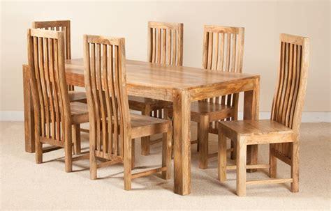 cuba sheesham 6 seater dining set casa furniture dakota light mango 6 seater dining set casa furniture uk
