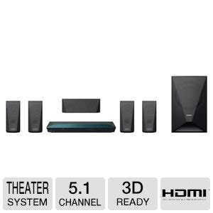 sony 5 1 channel 1000 watts 3d dvd