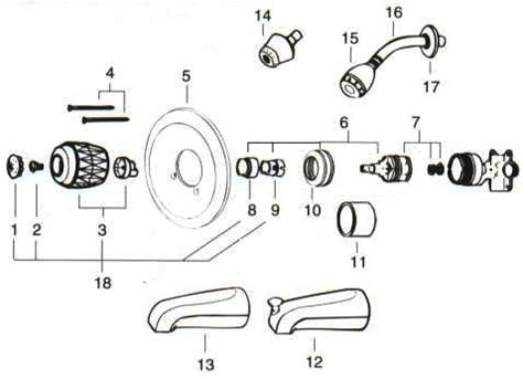 valley    tubshower replacement parts