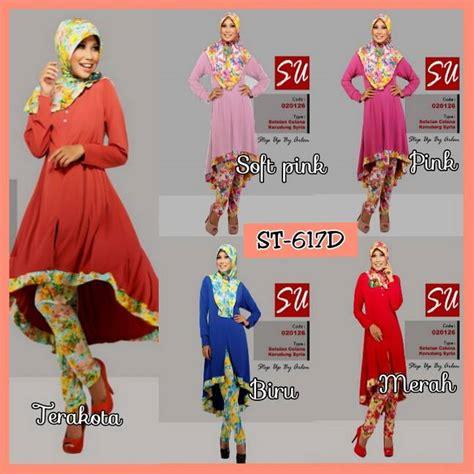 Dress Motif Bunga Special Edition Redherring busana muslim koleksi terbaru
