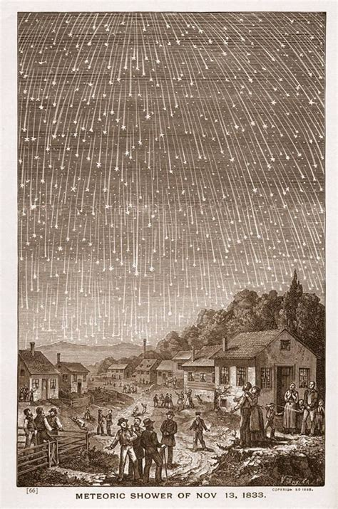 Meteor Shower Of 1833 by Adventist Review Lessons From The The