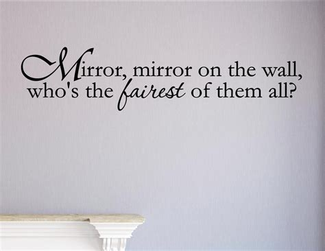 mirror mirror on the wall sticker mirror mirror on the wall sticker peenmedia