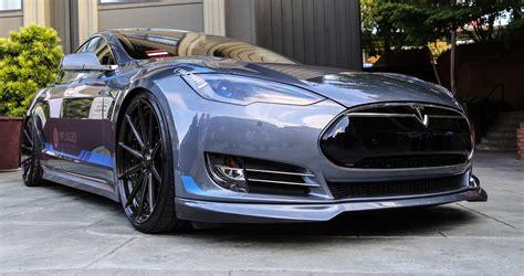 Tesla Car Performance Unplugged Performance Debuts Tesla Model S Kit