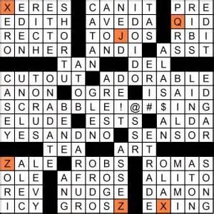 September 2013 Matt Gaffney S Weekly Crossword Contest