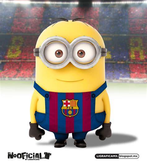imagenes de minions barcelona ligrafica mx soccer minions internacionales 12072013ctg