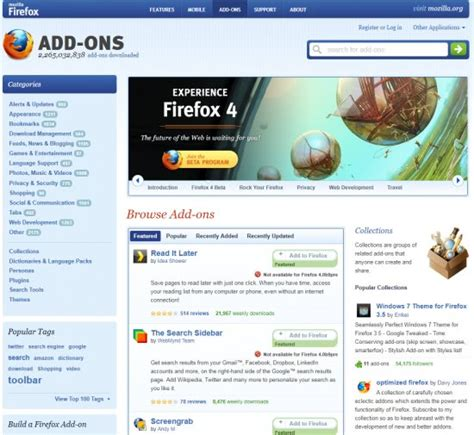 firefox extensions themes mozilla firefox web browser all you need to know ghacks