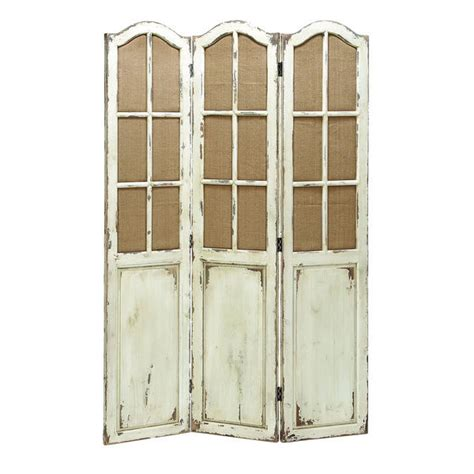 Rustic French Country Vintage Style Antique Distressed Rustic Room Dividers