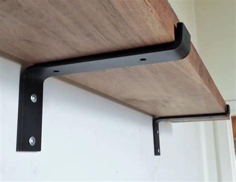 rustic shelf brackets style u2014 the homy installing rustic shelf brackets the homy design