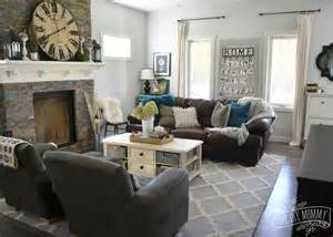 Antler Coffee Table Fall 2015 Home Tour Simple Woodland Inspired Country