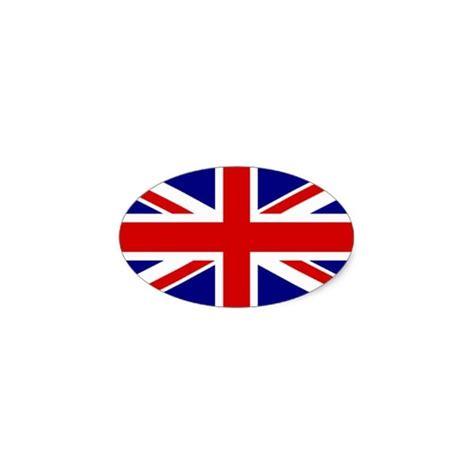 Union Jack Aufkleber by Oval Union Jack Sticker