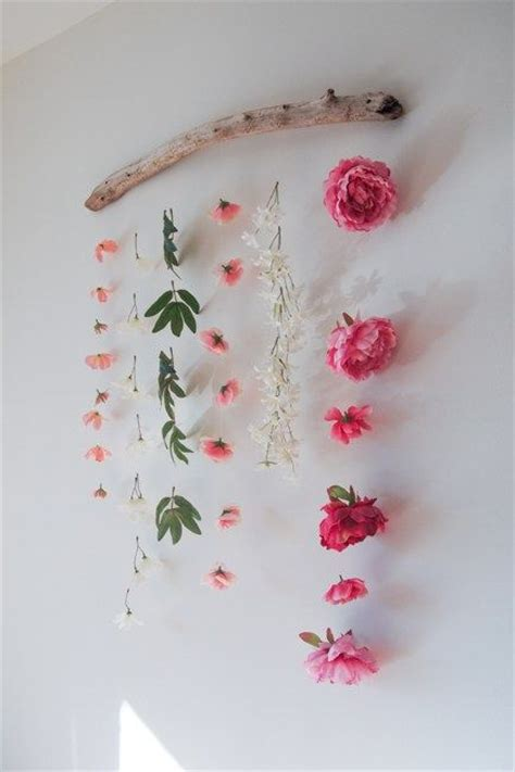 best 25 flower wall decor ideas on