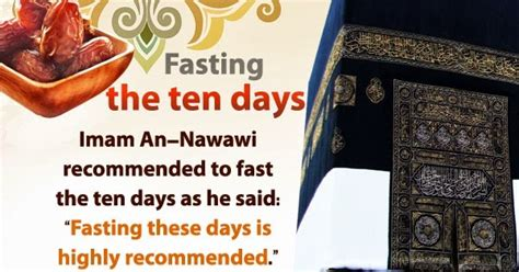 10 days to faster 0446676675 why we should fast the first 9 days of dhul hijjah islamic knowledge