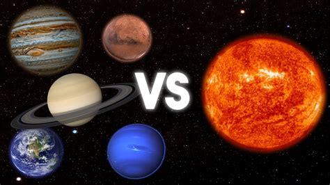 imagenes extra as de otros planetas 191 qu 201 pasar 205 a si todos los planetas chocasen contra el sol