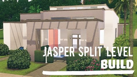 how to level a house the sims 3 speed build split level jasper youtube