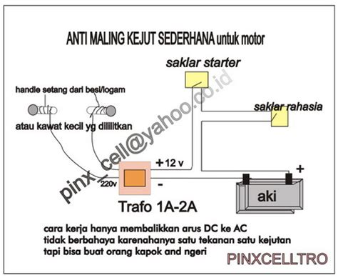 Alarm Motor Anti Maling 301 moved permanently
