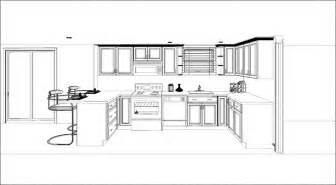 Small Open Kitchen Floor Plans Narrow Kitchen Floor Plan Small Kitchen Floor Plans All