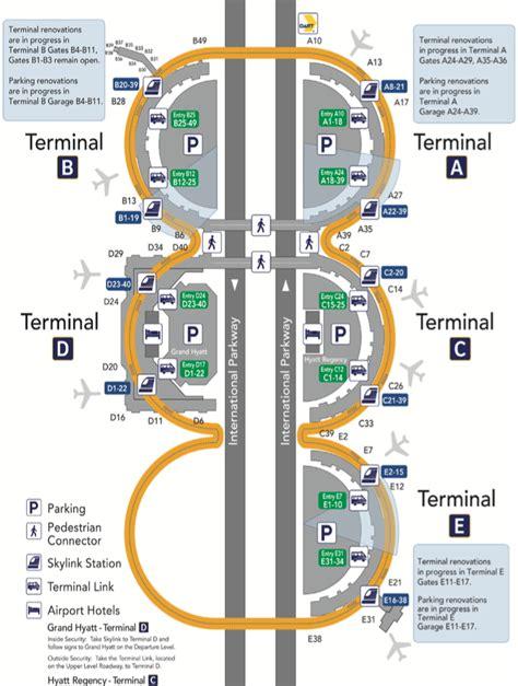 dfw airport map dallas ft worth dfw weninchina