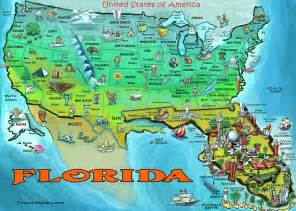 florida usa map by kevin middleton
