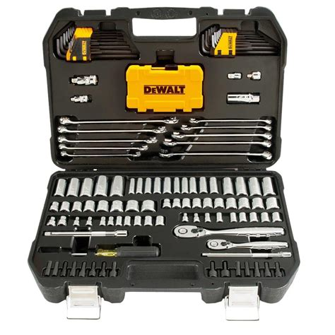 Kitchen Designing Tool by Dewalt Mechanics Tool Set 142 Piece Dwmt73802 The Home