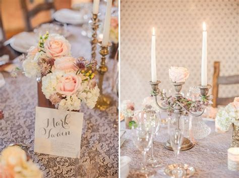 shabby chic table decorations ambiance shabby chic j ai dit oui
