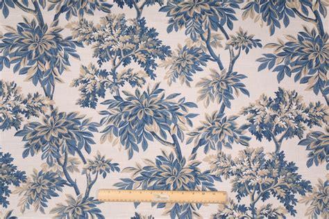 toile drapery fabric robert allen sylvan toile printed cotton drapery fabric in
