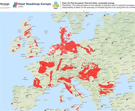 interactive map of europe interactive map showing the areas with geothermal heating