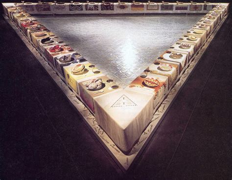 judy chicago dinner 301 moved permanently