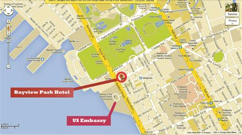 map us embassy manila suspicious package triggers bomb scare on day of obama