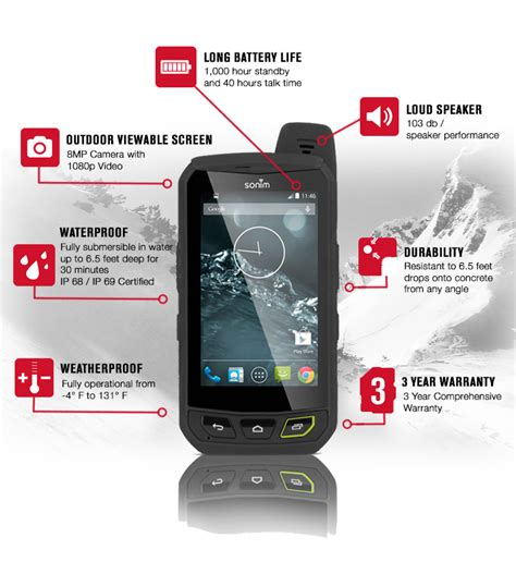 most rugged mobile phone sonim xp7 the most rugged lte android smartphone indiegogo