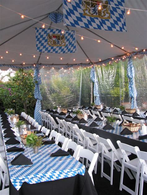 Backyard Oktoberfest by How To Turn Your Backyard Into Oktoberfest